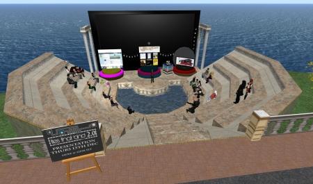 The Amphitheatre in Dublin Virtually Live.